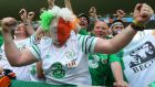 Gardaí have appealed to fans to be mindful of personal safety. Photograph: EPA