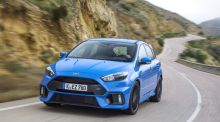 Video: Ford Focus RS tested on Mondello race track