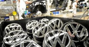 "VW revealed last September that it had used software- based ""defeat devices"" in up to 11 million of its diesel vehicles, which served to understate emissions of hazardous nitrogen oxides in official laboratory tests. Photograph:  Fabian Bimmer/Reuters"