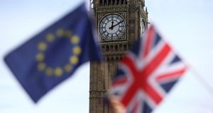 UK shares ended higher with commodity stocks rebounding from early weakness, as the equities market continued to price in a greater likelihood of the country voting to stay in the EU. Photograph: Neil Hall/Reuters