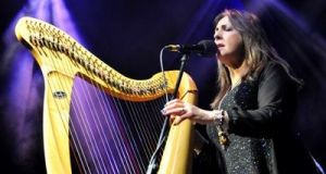 Moya Brennan performing with Clannad in London, 2014. File photograph: Getty Images