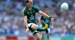 Graham Reilly: together with Cillian O'Sullivan and Eamon Wallace he forms a potent Meath half forward line. Photograph: Ryan Byrne/Inpho