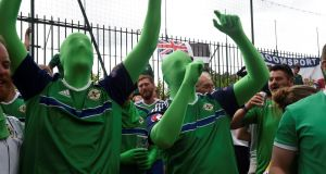 Northern Ireland fans voting to Remain in Europe