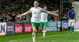 Failure, redemption and glory in a minute. As minutes go, that was probably the best in the history of Irish football.