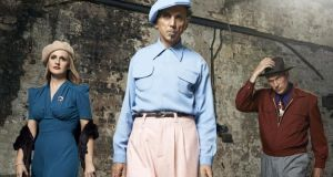 Dexys, with Kevin Rowland centre