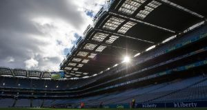 The GAA may opt to show Ireland versus France on their big screen on Sunday. Photograph: Inpho