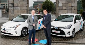 Dublin launch of Yuko sees Toyota start down the route of  car sharing future