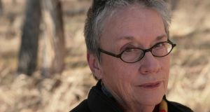 Annie Proulx: majestic short story writer falters in  epic novel of environmental carnage. Photograph:  Gus Powell