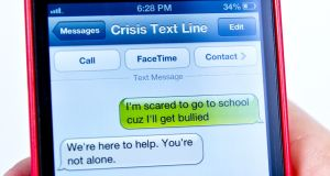 Crisis Text Line: Trained counsellors are available 24 hours a day, seven days a week, to respond to people in need