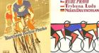 Posters from the Peace Race which started in Warsaw and ended in Prague. Photographs from Paul Smith's Cycling Scrapbook (Thames and Hudson)