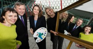 The RIA and Accenture are looking to increase the number of portraits of women by commissioning portraits of female scientists. Photograph: Shane O'Neill