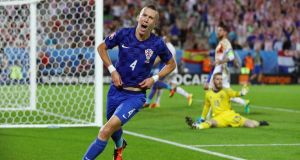 Ivan Perisic: one of the best at the tournament so far.  Photograph: Ian Walton/Getty Images