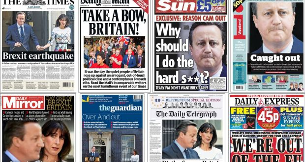 british papers gave readers a stream of biased misleading stories on eu