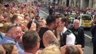 Police officer halts London's Pride parade to propose to boyfriend