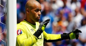 Darren Randolph: A solid and confident performance from Ireland's undoubted number one. Unable to do anything about the two France goals and produced a string of smart saves, including a good stop from Gignac. Rating: 8