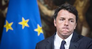 Italian Premier Matteo Renzi's referendum onconstitutional reforms is a gamble which is no less risky than David Cameron did.