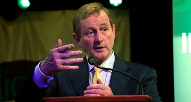 "Taoiseach Enda Kenny: ""Cross- party approach will be valuable in the time ahead""."