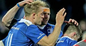 Luke Fitzgerald has won three Heineken Cups, a Challenge Cup and three Pro12 titles with Leinster. Photograph: Morgan Treacy