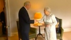 Queen Elizabeth quips 'I'm still alive' upon meeting Martin McGuinness