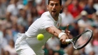 Novak Djokovic up and running at Wimbledon