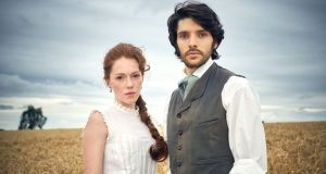 Charlotte Spencer and Colin Morgan in The Living and the Dead: old-fashioned ghost story but with depth