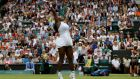 Serena Williams cruised into the second round of Wimbledon. Photograph: Reuters