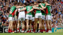 If Mayo are  going to salvage anything, then the next couple of weeks are the most important all year. Photograph: James Crombie/Inpho