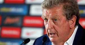 England soccer manager Roy Hodgson  announcing his resignation  on Monday after England lost 2-1 to Iceland in their Uefa Euro 2016 clash in Nice, France. Photograph: Abedin Taherkenareh/EPA
