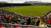 Fitzgerald Stadium in Killarney. Won't be hosting the bumper attendance which would usually be present for a Kerry v Cork Munster final. Photograph:  Brendan Moran/Sportsfile