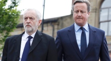 Cameron to Corbyn: 'for heaven's sake man, go!'