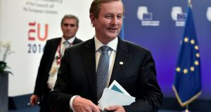 'The closer the relationship the UK is going to have with the European Union the better for us,' Taoiseach Enda Kenny lsays. Photograph: Eric Vidal/Reuters