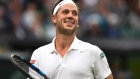 Love hurts: Wimbledon qualifier revels in winning game against Roger Federer