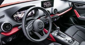 Audi's Q2: The levels of quality are simply brilliant, space in the front is good, seat comfort is fine, and the big, bright, useful 'Virtual Cockpit' digital display panel is just fantastic, albeit and expensive option.