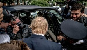 Boris Johnson has ruled himself out of running in the Conservative Party leadership contest. Photograph:  Andrew Testa/The New York Times