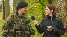 In the army now: What's life like for women?