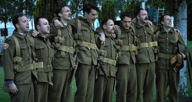 Observe The Sons Of Ulster Re Enacted In Thiepval