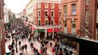Dublin's Grafton Street: the Republic was ranked seventh in the list of states people would like to visit