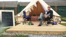Glamping: Live like a royal while pretending to be Bear Grylls