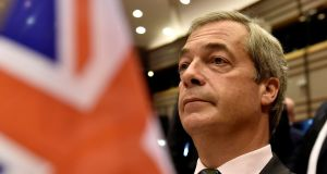 "Nigel Farage's portrayal of the Leave result as ""a victory for real people, a victory for ordinary people, a victory for decent people"" was undiluted populism at its sharpest. Photograph: Reuters"