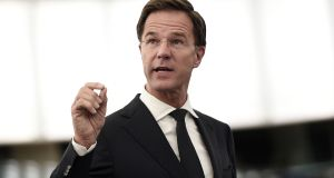 "Dutch prime minister Mark  Rutte said that he, like many other citizens woke up on the morning of June 24th feeling ""pretty dreadful."" Photograph: Frederick Florin/Getty Images"