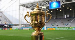 Eir Sport have won the rights to the 2019 Rugby World Cup. Photograph: Getty