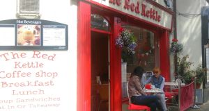 "Red Kettle,  Wexford town: ""makes me feel like I'm popping home to my family for a cup of coffee, ""  says one reader"