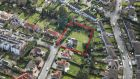 Rutland House on Crosthwaite Park South in Dún Laoghaire: comes to market with planning permission for two additional houses