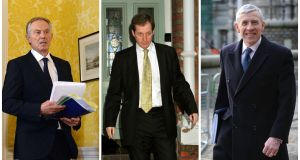 Tony Blair, Alastair Campbell and Jack Straw were main protagonists in war decision