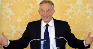 Former British prime minister Tony Blair said on Wednesday he had 'more sorrow, regret and apology than you may ever know or can believe' in relation to the UK's involvement in the Iraq war. Photograph: Getty