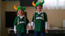 Living in Canada with French-Italian parents, our kids are still 'Irish'