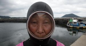 Enthalling: a haenyeo diver on the South Korean island of Jeju, in Forces of Nature with Brian Cox