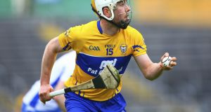 The injured Conor McGrath could prove a decisive loss for Clare. Photograph: Ken Sutton/Inpho