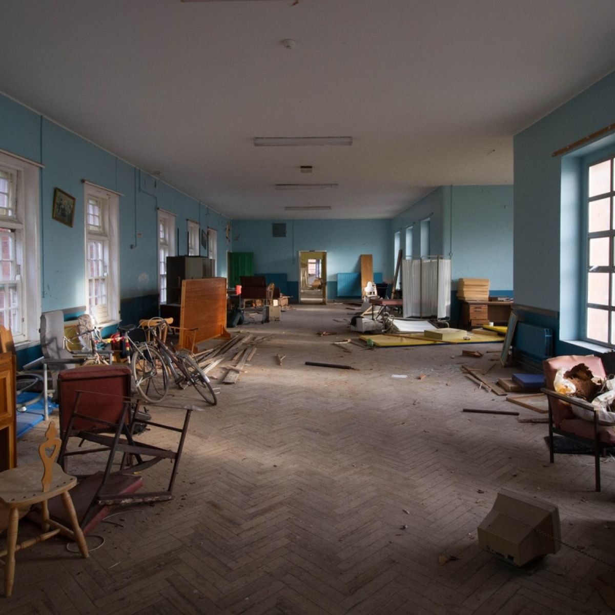 Hidden stories of abandoned mental hospital revealed