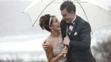 Our wedding story: Not even Storm Desmond could stop this ceremony